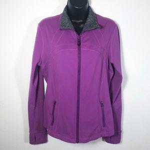 Lululemon Define Jogging Jacket size 12 purple